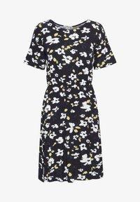 LISA  - Jersey dress - black, print