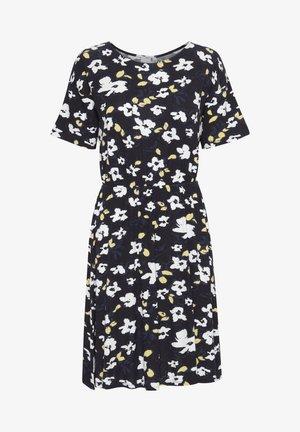LISA  - Jerseyklänning - black, print