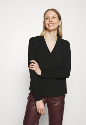FIRKE - Long sleeved top - black