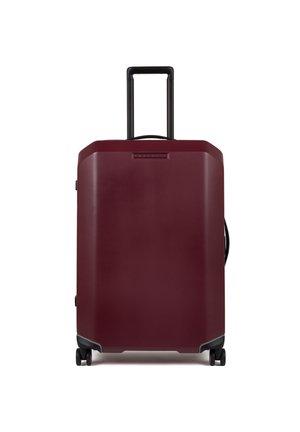Wheeled suitcase - burgundy