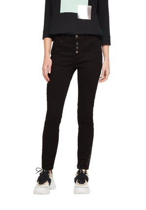 HOSE LANG - Slim fit jeans - black