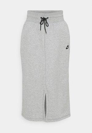 SKIRT - Pencil skirt - dark grey heather/black
