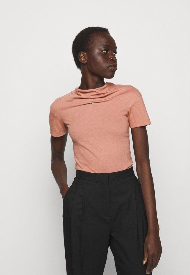 TUBE - T-Shirt basic - dusty pink