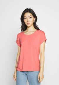 ONLY - ONLMOSTER ONECK - T-shirt basic - tea rose - 0