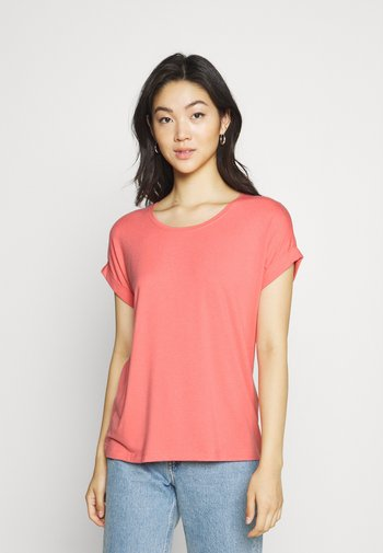 ONLMOSTER ONECK - Camiseta básica - tea rose