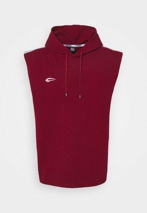 HOODED  - Sweatshirt - bordeaux