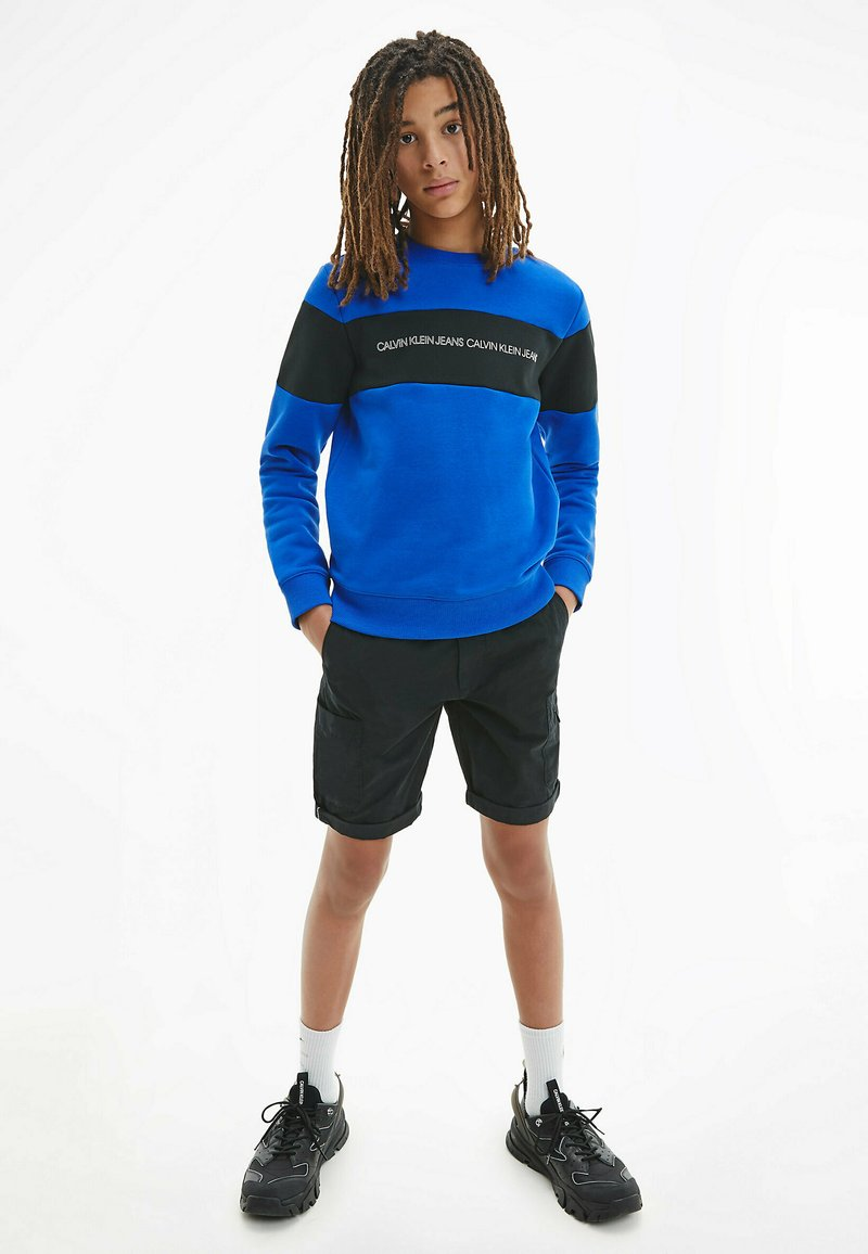 Calvin Klein Jeans - BLEND UTILITY - Shorts - black
