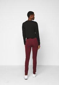 Fila Tall - TASYA - Leggings - Trousers - tawny port/orange popsicle - 2