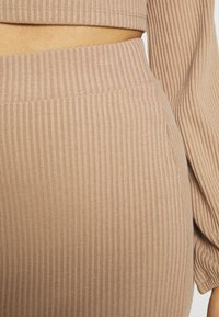 Nly by Nelly - CROPPED SKIRT SET - Pencil skirt - beige - 5