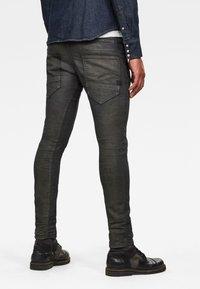 G-Star - D-STAQ 3D SLIM COJ - Slim fit jeans - raven soft cobler - 1