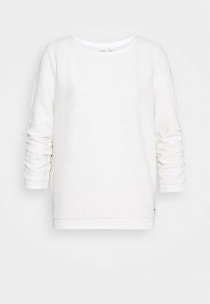 STRUCTURED - Sweatshirt - off white