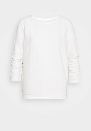 STRUCTURED - Sweatshirt - off white