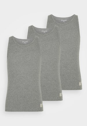 JACHENRIK TANK 3 PACK - Undershirt - grey melange