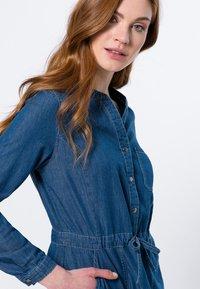 zero - Denim dress - mid blue clean wash - 3