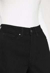 Even&Odd - Mom fit jeans - Jeans Skinny Fit - black denim - 3