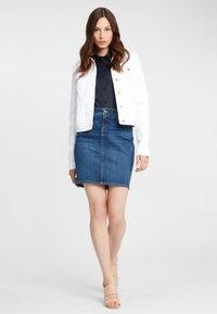 Cross Jeans - Button-down blouse - navy - 1