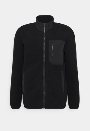 JACKET - Fleecejakker - true black