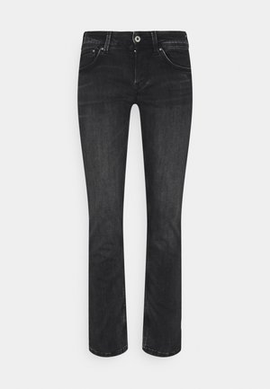 SATURN - Jeans straight leg - black wiser