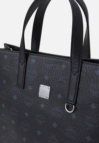 MCM - TOTE MED UNISEX - Tote bag - black - 7