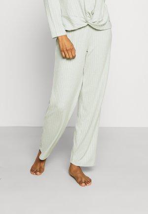 PANTS - Pyjama bottoms - gray/green