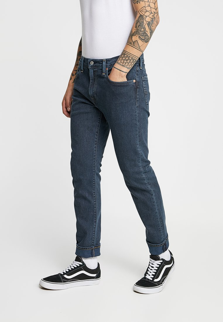 Levi's® - 502™ REGULAR TAPER - Jeans Tapered Fit - porcini blue