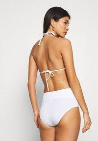 Max Mara Leisure - TAMIGI BRIEF - Bikini bottoms - weiß - 2