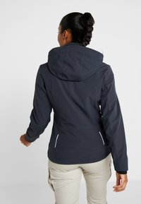 CMP - WOMAN JACKET ZIP HOOD - Soft shell jacket - antracite - 2