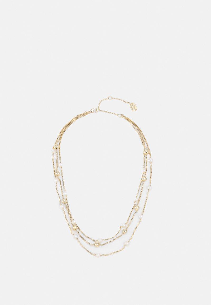 Lauren Ralph Lauren - MULTIROW COLLAR - Collier - gold-coloured/white