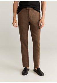 Mango - Trousers - brun - 0