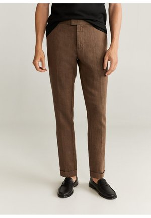 Pantalon classique - brun
