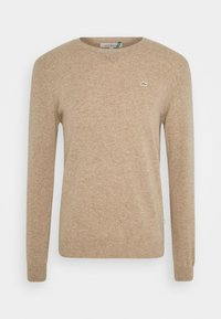 The GoodPeople - KNOX - Stickad tröja - beige - 0