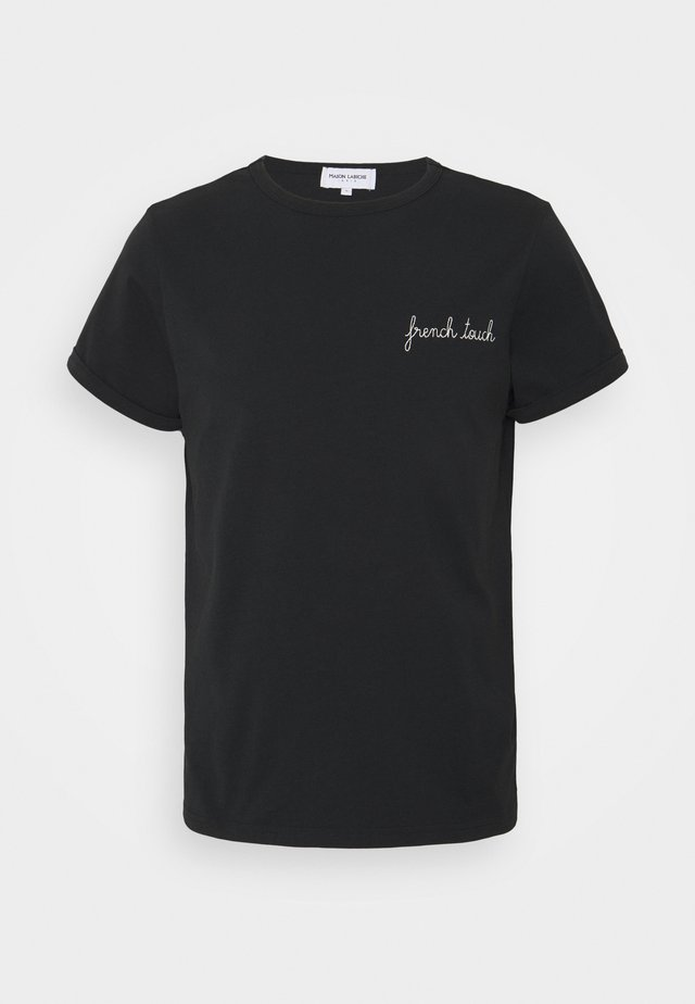 CLASSIC TEE FRENCH TOUCH - Print T-shirt - black