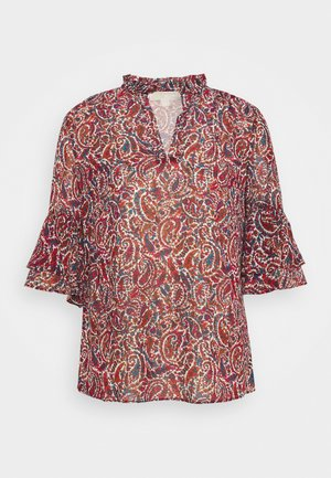 LUSH PAIS BELL  - Blouse - dark ruby