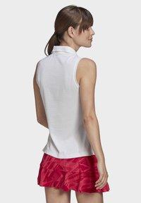 adidas Performance - TENNIS MATCH TANK TOP HEAT.RDY - Polo shirt - white - 1