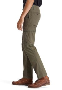 Timberland - CORE TWILL  - Cargo trousers - grape leaf - 2