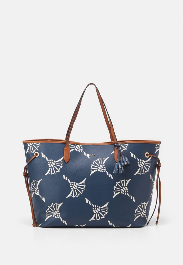 CORTINA GRANDISSIMO LARA - Shopping Bag - petrol