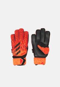 adidas Performance - UNISEX - Goalkeeping gloves - solar red/red/black - 0