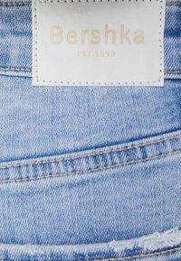 Bershka - SUPER HIGH WAIST - Jeans Skinny Fit - blue denim - 5