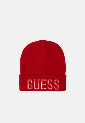 HAT WITH LOGO - Berretto - necessary red
