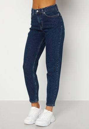 MELINDA COMFY MOM - Jeans straight leg - dark blue denim