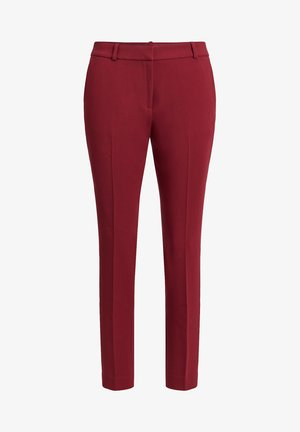 Trousers - vintage red