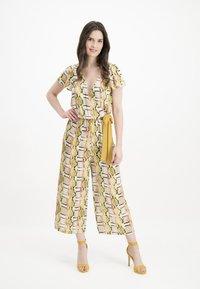 Nicowa - Jumpsuit - yellow - 0