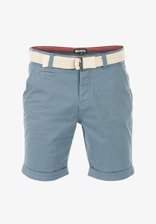 RIVHENRY - Shorts - pigeon blue