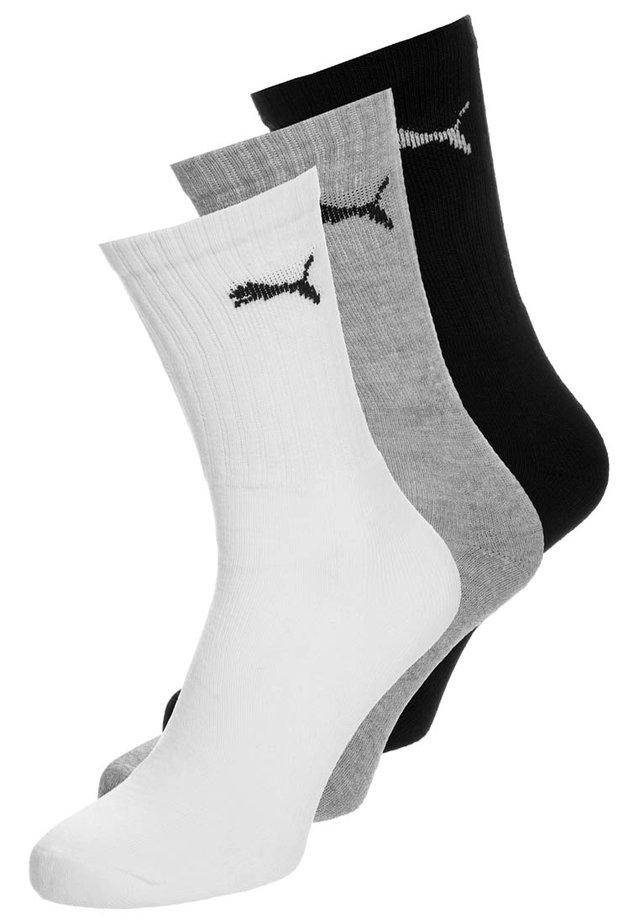 3P - Sports socks - white/grey/black