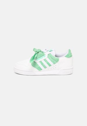 CONTINENTAL 80 UNISEX - Sneakers basse - white/semi screaming green