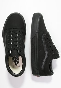 Vans - OLD SKOOL - Skateschuh - black - 5