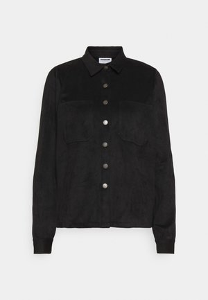 NMHALO HILL - Button-down blouse - black