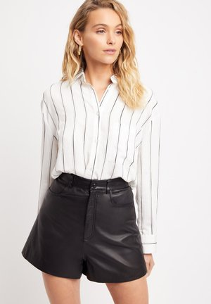 Button-down blouse - z blanc