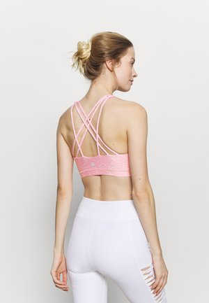 STRAPPY SPORTS CROP - Sports bra - strawberry milkshake