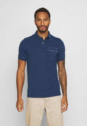 Poloshirts - faded indigo